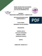 Mediciones Hidrologicas Lab 1