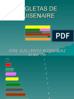 REGLETAS DE CUISENAIRE