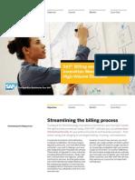 SAP Billing and Revenue Innovation Management for High-Volume Business