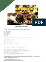 SIMULADO DA REAL EDIÇÃO 1 30-07-2013