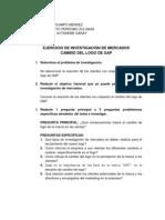 EJERCICIO DE INVESTIGACIÓN DE MERCADOS GAP