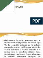 Diapo de Literatura Vanguardista