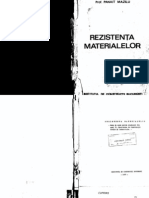 Rezistenta materialelor - Mazilu