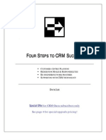 Four Steps to CRM Success