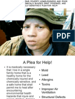 A PLEA FOR HELP