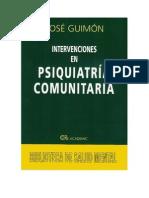135366688 Intervenciones en Psiquiatria Comunitaria