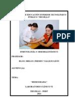 Practica I Inmunologia y Serodiagnostico 2013