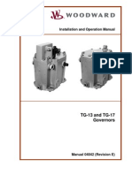 TG-13 , TG-17 Governor Manual