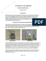 ComEd Smart Meter Fires--Staff Report 2013