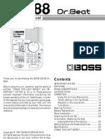 Boss DrBeat88 DB-88 e3
