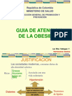 GUIA DE LA ATENCIÓN DE LA OBESIDAD.