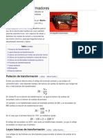 Diseño de transformadores - Wikipedia, la enciclopedia libre b