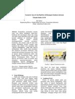Analisa Parameter Speech Intelligibitiy Di Ruangan Seminar Jurusan Teknik Fisika UGM