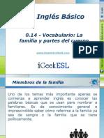 0.14 - Vocabulario La Familia y Partes Del Cuerpo