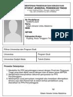 Cetak Form Registrasi NJMSIYLGUH 1364921078