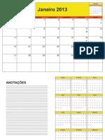 Calendário de Planejamento