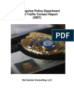 Contact Data Annual Report 2007