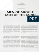 Men of Muscle Men of the Mind