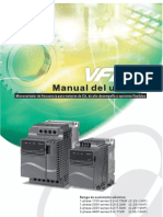 Delta - Vfd-e Manual Sp