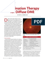 Combination Therapy for Diffuse DME
