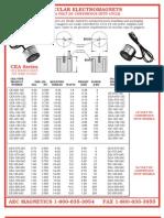 Round 12 24 Volt Dc Electromagneti