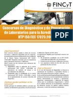 Concurso de Diagnóstico y de Preparación de Laboratorios para Acreditación