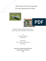 Rapid Aerial Photo System for Precision Agriculture Application Using Unmanned Aerial Vehicle