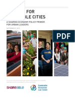 Policies for Shareable Cities