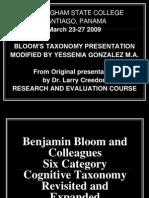 Bloom's Ppt Final 2 9-9-08
