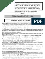 Ps 2009 Prov as Gerais