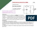 Site TS-P 09 Oscillations Dans Un Circuit RLC Serie