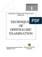 VETERINARY Techniques of Ophthalmic Examination Manual