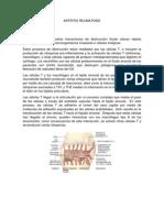 Artritis Reumatoide Word