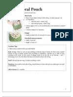210-52 Floral Pouch