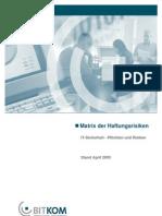 BITKOM Leitfaden Matrix Der Haftungsrisiken-V1.1f