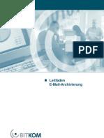 BITKOM Leitfaden E-Mail-Archivierung 2005-07-13