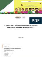 COFAVIC - Creciendo en Derechos Humanos - Manual de actividades para niños, niñas y adolescentes
