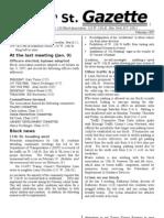 West 13th Street Gazette No. 1 (Feb. 1997)