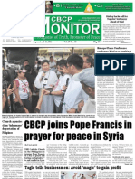 CBCP Monitor Vol. 17 No. 18
