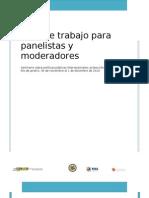 Guia Para Panelistas y Moderadores