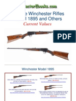 Winchester Rifles Model 1895 and Others