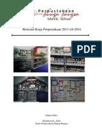 Rencana Program Kerja Perpustakaan 2013-2014