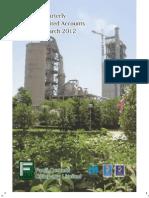 3 Rd Quarter Report 2012