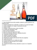 5o Practicos Usos Del Vinagre