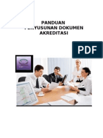 Panduan Penyusunan Dokumen Akreditasi 2012