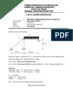 Soal UAS Metode Elemen Hingga (Struktur)