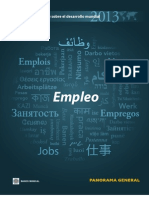 Banco Mundial Empleo