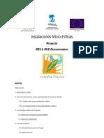 Instalaciones Micro-Eólicas – Proyecto RES