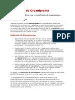4. Definición de Organigrama