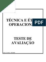 Tecnica e Etica Operacional
